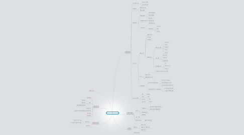 Mind Map: Supermap  기술 서비스