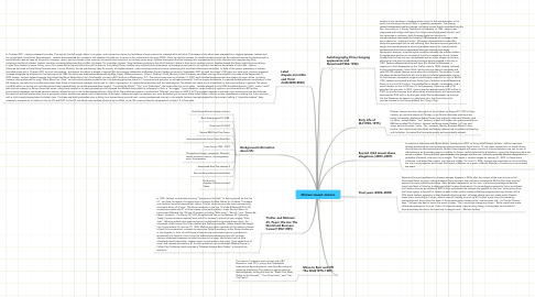 Mind Map: Michael Joseph Jackson