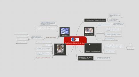 Mind Map: Codificación Tabulación de Datos