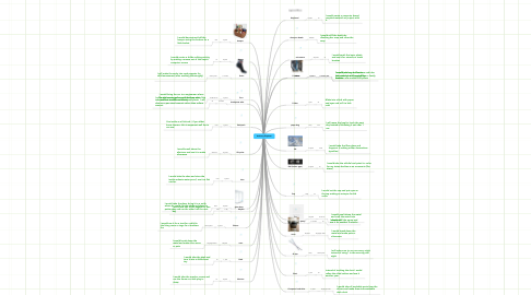 Mind Map: Anthony Giquinto