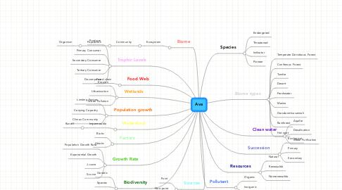 Mind Map: Ava