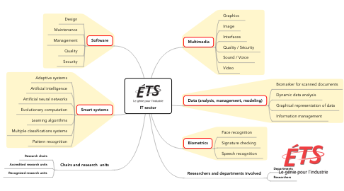 Mind Map: IT sector