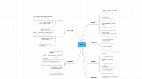 Mind Map: Tiimi 3