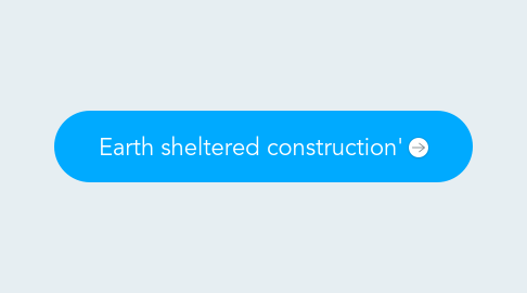 Mind Map: Earth sheltered construction'