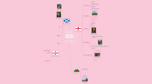 Mind Map: Copy of Great Britain