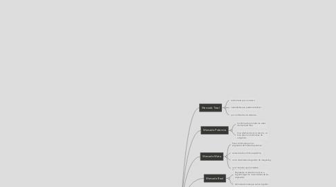 Mind Map: Tipos de mercado