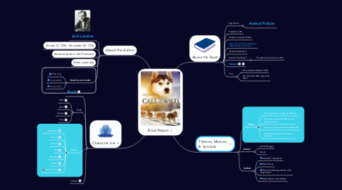 Mind Map: Book Report
