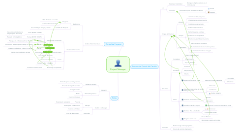 Mind Map: Project Manager