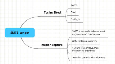 Mind Map: SMTS_sunger