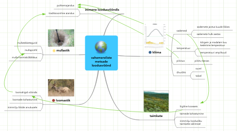 Mind Map: vahemerelistemetsadeloodusvöönd