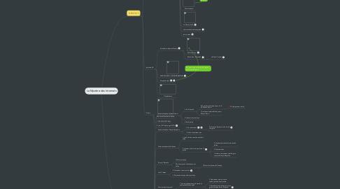 Mind Map: Le Mystère des Internets