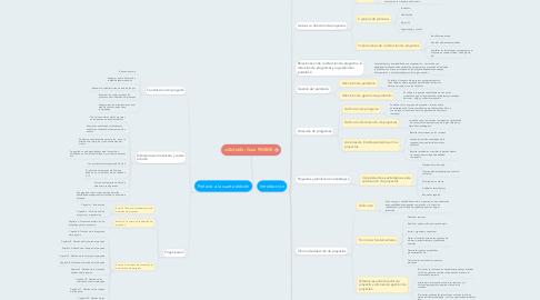 Mind Map: Guía PMBOK