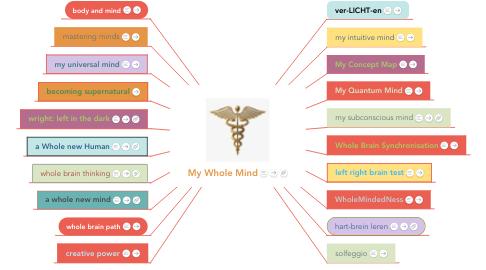 Mind Map: My Whole Mind