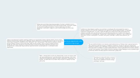 Mind Map: Najważniejsze zagadnienia ruchu cyberfeministycznego