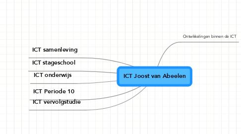 Mind Map: ICT Joost van Abeelen