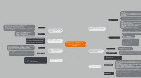 Mind Map: Princípios-Chave para a Promoção da Qualidade na Educação Inclusiva