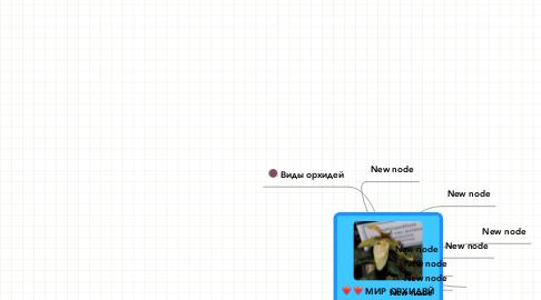 Mind Map: МИР ОРХИДЕЙ
