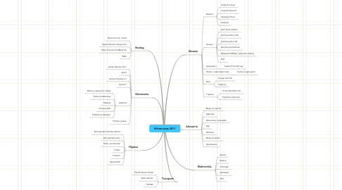 Mind Map: Wintercamp 2011