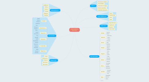 Mind Map: MAPA MENTAL Educación