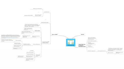Mind Map: GESTION DE RED