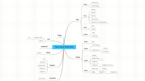 Mind Map: Tobias Andrew Wright Kuhns