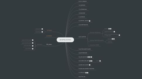 Mind Map: BEISPIELKISTEN
