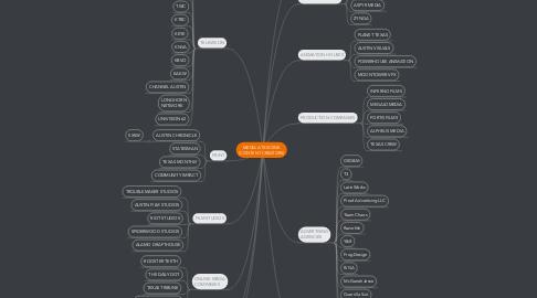 Mind Map: MEDIA ATX SCENE (CONTENT CREATORS)