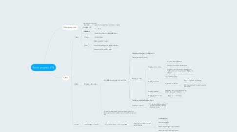 Mind Map: Řízení projektu JTB