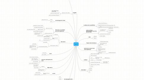 Mind Map: Santé