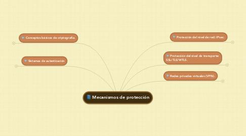 Mind Map: Mecanismos de protección