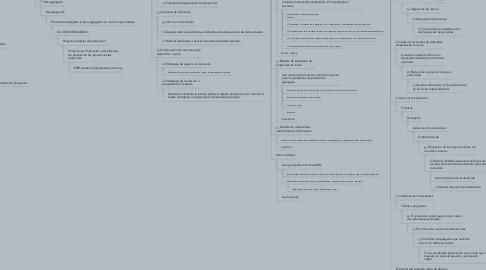Mind Map: Planeación agregada