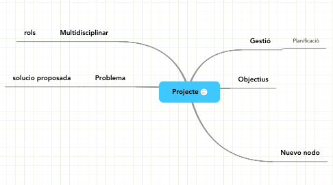 Mind Map: Projecte