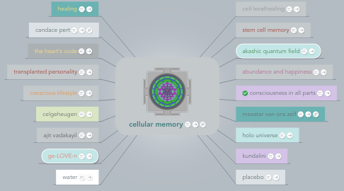 Mind Map: cellular memory