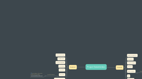 Mind Map: Project Stakeholders
