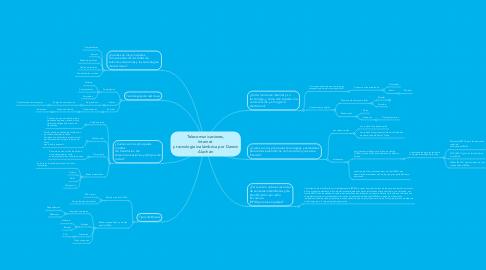 Mind Map: Telecomunicaciones, Internet  y tecnología inalámbrica por Darwin Alachán