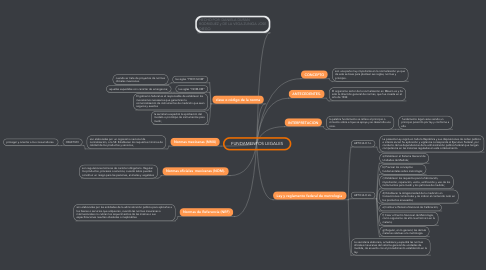 Mind Map: FUNDAMENTOS LEGALES