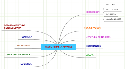 Mind Map: PEDRO PERALTA ALVAREZ