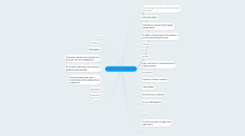 Mind Map: FUENTES DE INFORMACION