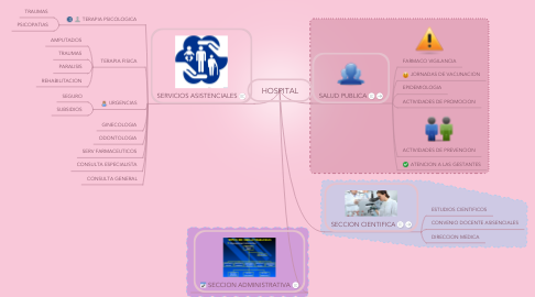 Mind Map: HOSPITAL