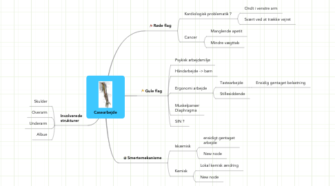 Mind Map: Casearbejde