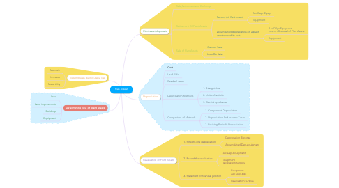 Mind Map: Plan Assest
