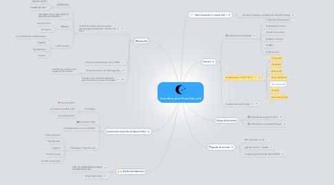 Mind Map: Questionnaires Travail de nuit