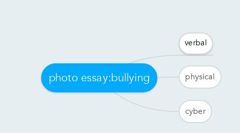 Mind Map: photo essay:bullying