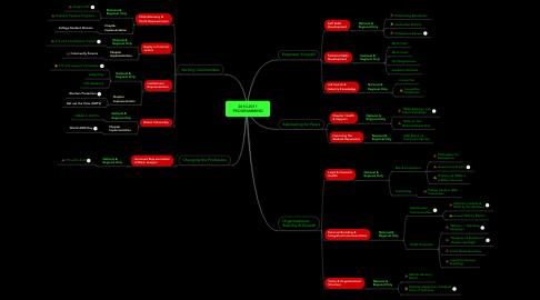 Mind Map: 2010-2011 PROGRAMMING
