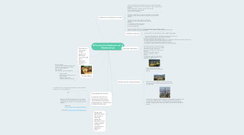 Mind Map: El Proceso de Urbanizacion en el Mundo Actual