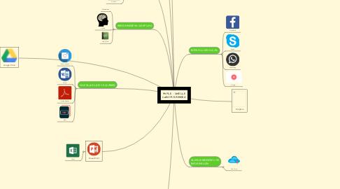 Mind Map: MI PLE - GISELLE CUESTA RAMIREZ
