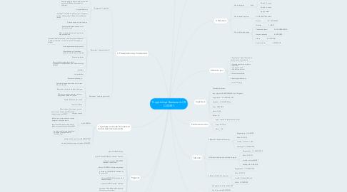 Mind Map: Projet Achat Restaurant CR CODIR1