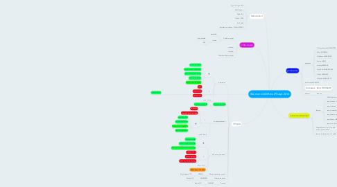 Mind Map: Réunion CODIR du 29 sept 2014