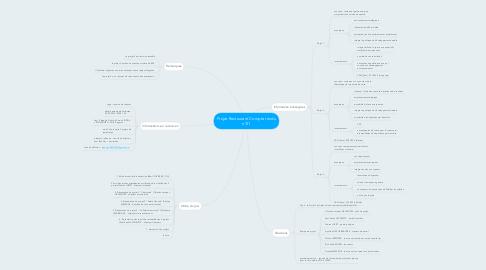 Mind Map: Projet Restaurant Compte rendu n°01