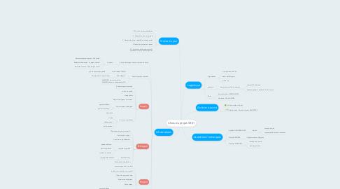 Mind Map: Choix du projet-CR01